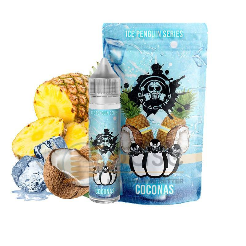 COCONAS SHOT ICE PENGUIN GALACTIKA - Fruttati