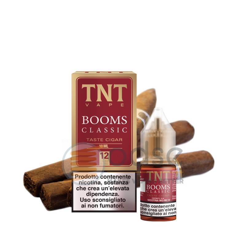 BOOMS CLASSIC LIQUIDO TNT VAPE 10 ML - Tabaccosi