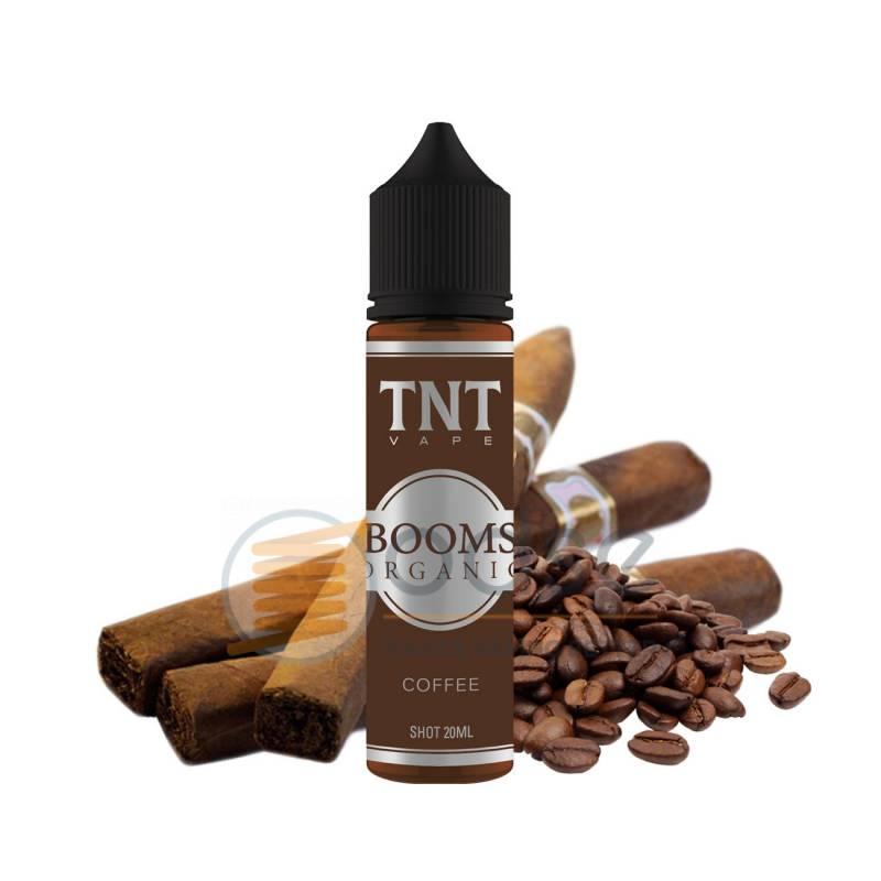BOOMS ORGANIC COFFEE SHOT TNT VAPE - Tabaccosi