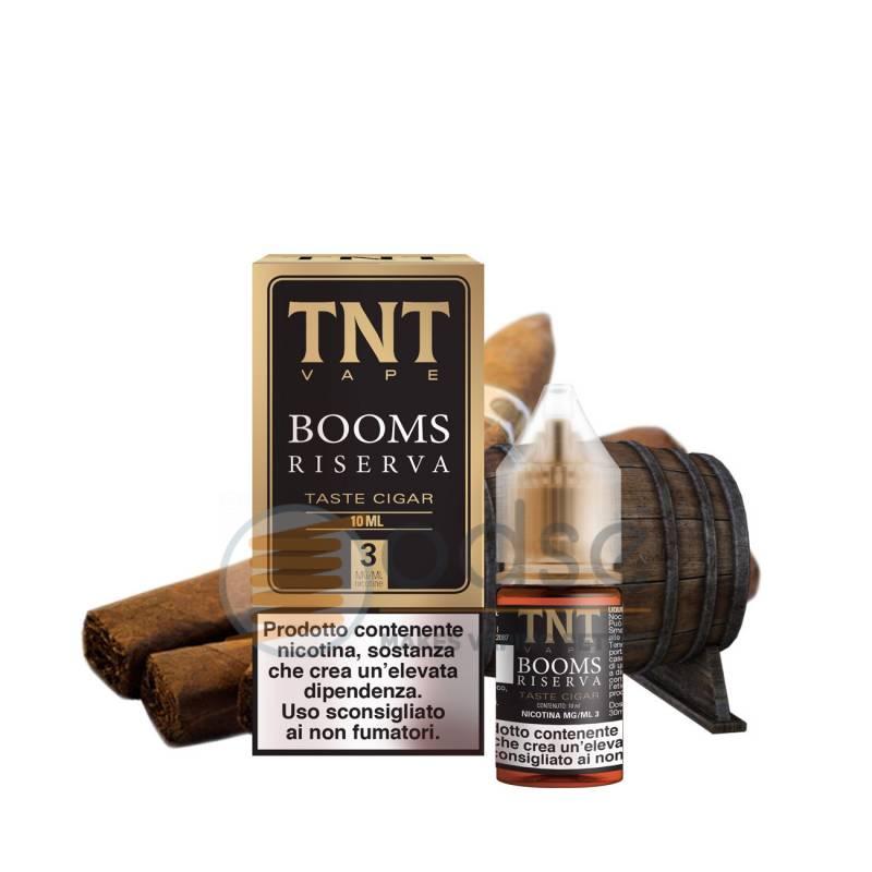 BOOMS RISERVA LIQUIDO TNT VAPE 10 ML - Tabaccosi
