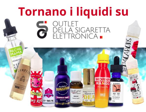 Novità ODSE: tornano i liquidi per la sigaretta elettronica!